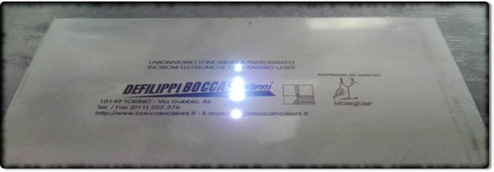 incisioni laser